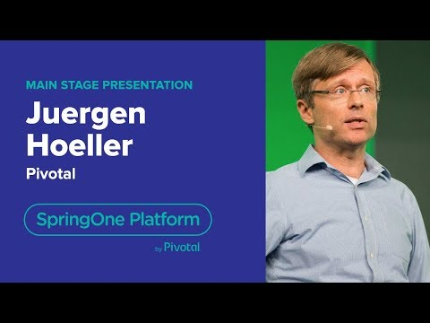 Juergen Hoeller, Pivotal—Current and Future State of Java, SpringOne Platform 2018