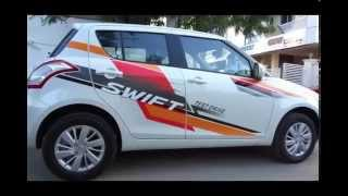#Cars@Dinos: New Maruti Suzuki Swift 2014/2015 Review and Walkaround (price, mileage, etc.)
