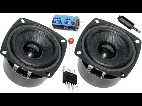 How to make home subwoofer amplifier