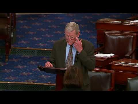 Inhofe Speaks on Senate Floor about Paul Kagame and U.S.  Af