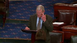 Inhofe Speaks on Senate Floor about Paul Kagame and U.S.  Africa Foreign Policy
