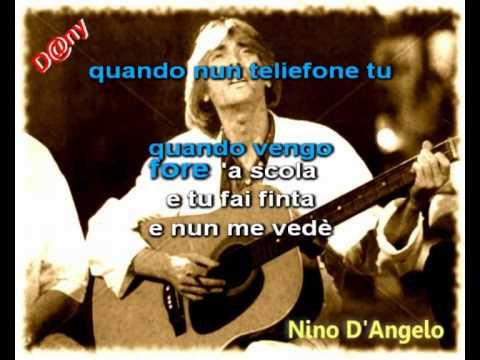 Nino D'Angelo   Io moro pè ttè   Base Musicale
