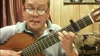 Chiếc Áo Bà Ba (Trần Thiện Thanh) - Guitar Cover by Bao Hoang