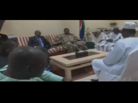 Guinea Bissau PM's Visit To The Gambia