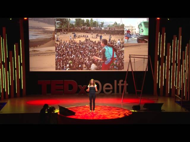 The tractor girl: Manon Ossevoort at TEDxDelft
