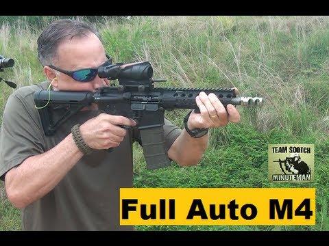 Full Auto M4 Carbine