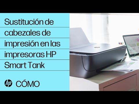 Sustitución de cabezales de impresión en las impresoras HP Smart Tank