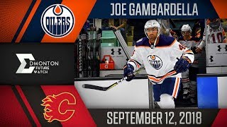 Joe Gambardella | One Assist vs Calgary | Sep. 12, 2018