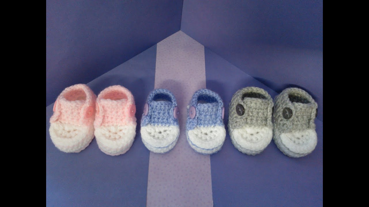 How to crochet my easy petite converse style slippers part 3