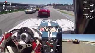 1963 Ferrari 250 Gto Vs 1959 Corvette - Rolex Monterey Motorsports Reunion 2015 - Group 2a - Race