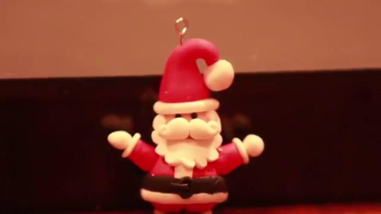 Tuto Fimo Le Père Noël