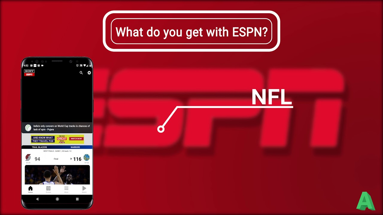 Espn Sports App Review Youtube