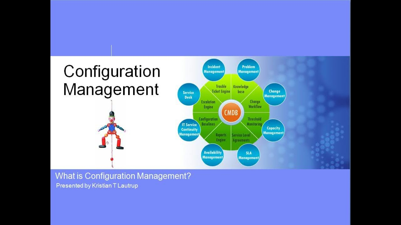 What Is Configuration Management And A Cmdb Youtube