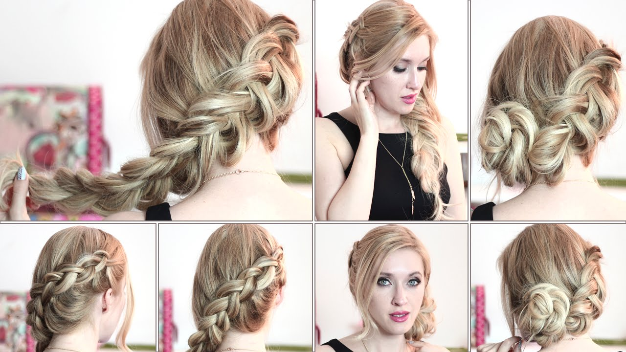 Hairstyles Braids Tumblr Step By Step: Katniss Everdeen Braid Hair Tutorial ★ Hunger Games Updo