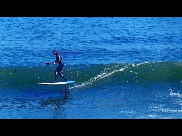 75 Sessions on a Hydrofoil - Learning to Foil Surf