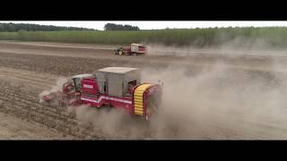 CN Nidzica - Wykopki 2018 / John Deere / Grimme Varitron / Scania