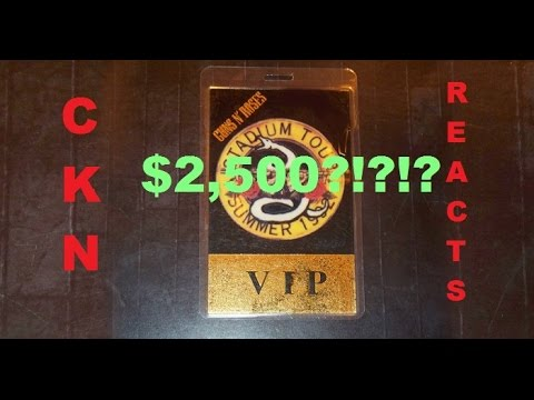 CKN Reacts to GUNS N ROSES $2,500 'VIP Experience'