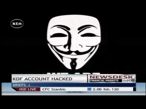 KDF's official twitter account hacked