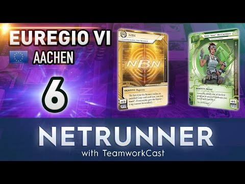 Euregio 6 - #6 - Opus and Chill - Netrunner With TeamworkCast