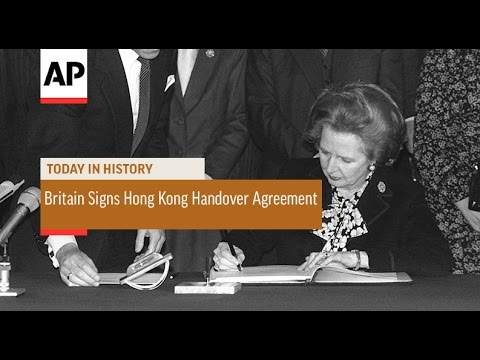 Britain Signs Hong Kong Handover Agreement - 1984  | Today in History | 19 Dec 16