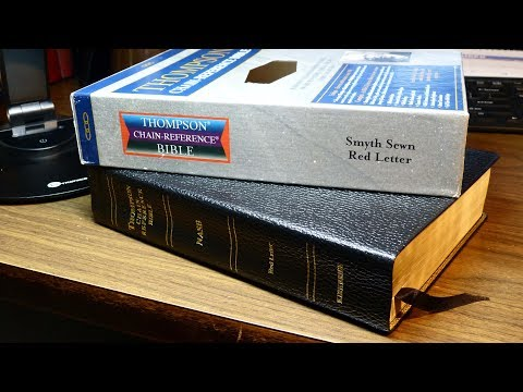 The Thompson Chain-Reference Bible, NASB (New American Standard Bible)