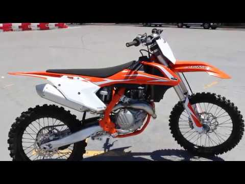 2018 ktm 450 sx-f - youtube