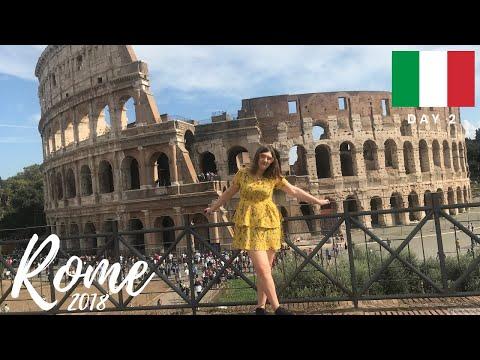 ROME TRAVEL VLOG: Day 2 | Colosseum