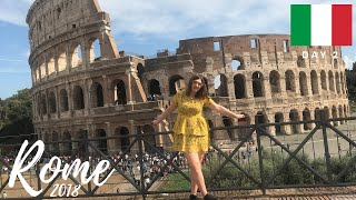 TRAVEL WITH ME TO ROME: Vlog Day 2 | Colosseum