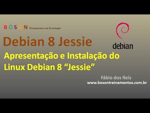 Debian 8 Jessie (Linux) - Apresentação e Instalação