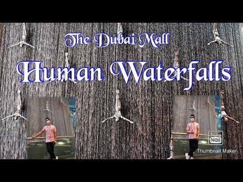 The Dubai Mall Waterfall | Dubai Mall (United Arab Emirates)