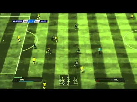 """""""Lộ diện"""" clip trận đấu của FIFA 11"""