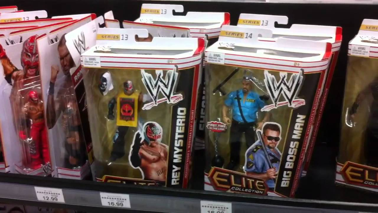 Wwe Elite Scale Ring Toys R Us
