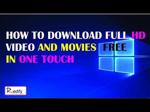 HOW TO DOWNLOAD FULL HD MOVIE AND VIDEO...