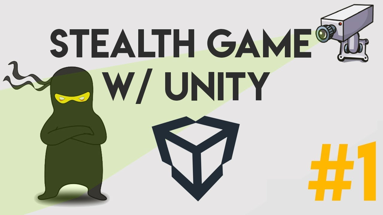 (01) Stealth Game - Custom Character Controller (Unity, C#)