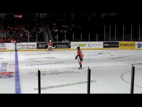 #75 Rob Dowd penalty shot against Braehead 22/9/13 (miss)