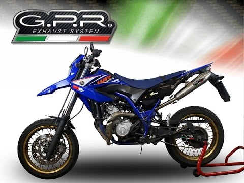 yamaha wr 125 x r 2009 14 gpr exhaust systems sound. Black Bedroom Furniture Sets. Home Design Ideas