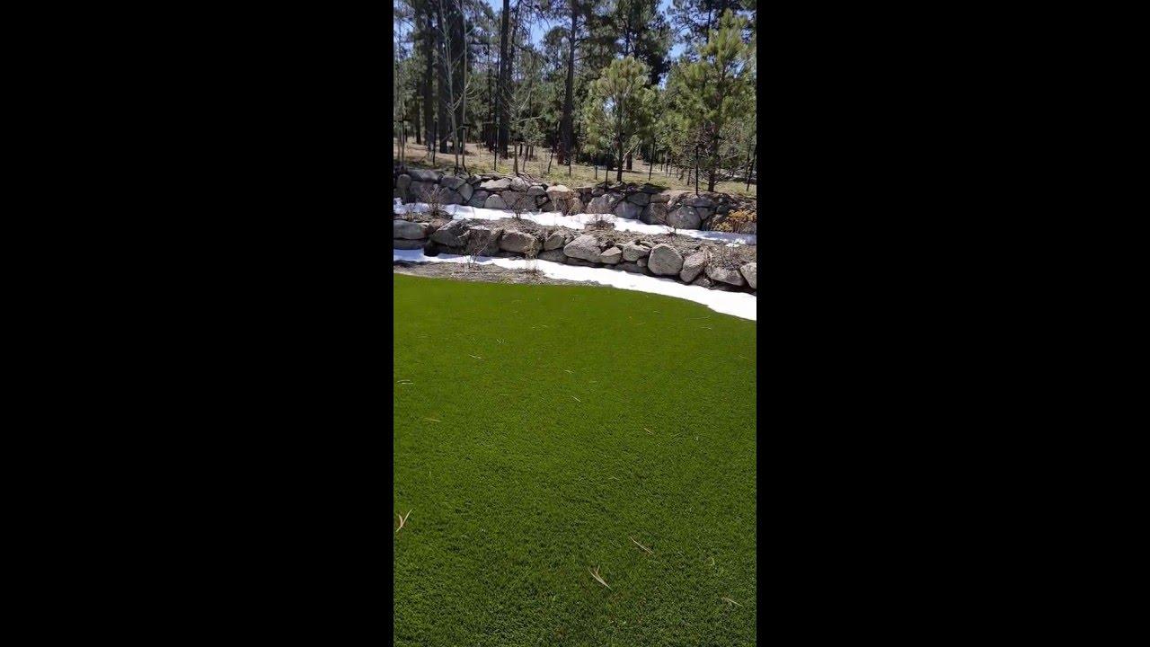 solving a colorado springs backyard drainage problem using