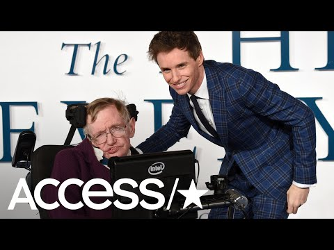 Eddie Redmayne, Kaley Cuoco & More Stars Pay Tribute To Physicist Stephen Hawking  Access