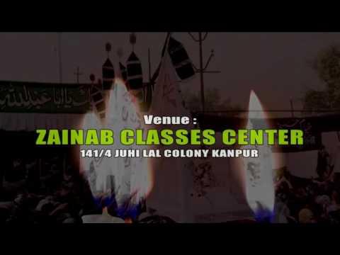 Promo Khamsa -E- Majalis | 141/4 ZAINAB CLASSES CENTER Juhi Lal Colony Kanpur 2016