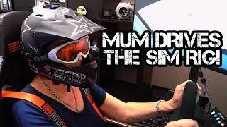 REVHEAD GRANDMA tries the Simulator Rig!