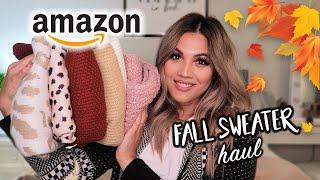 AMAZON FALL FASHION FINDS   Amazon Sweater Haul!