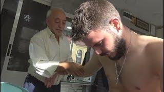 ASMR Turkish Barber Face Head and Body Massage 181