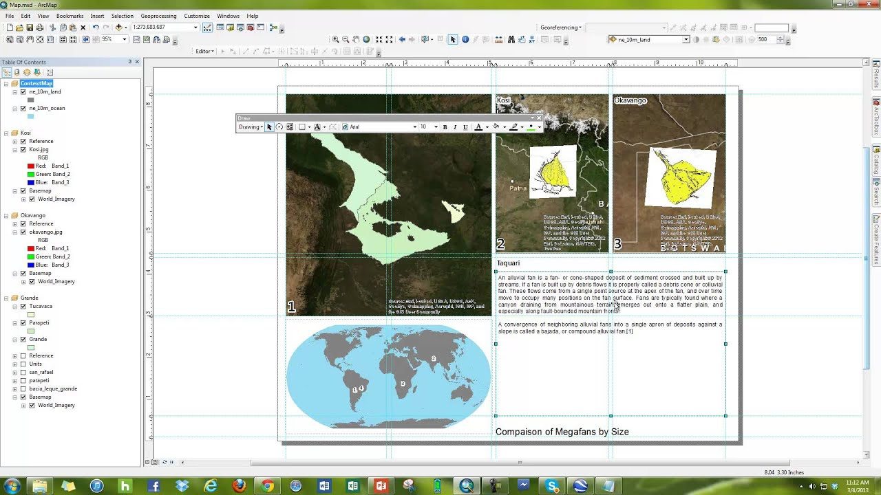 How to use Text Boxes in ArcMap to make Clean looking maps