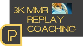 Replay Coaching 3k MMR Naga Siren