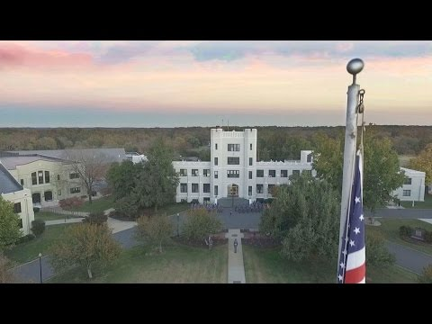 What does a military school look like? This is our Campus - Fork Union Military Academy