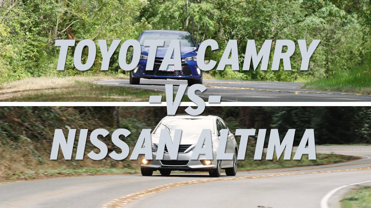 Toyota Camry vs Nissan Altima AutoNation