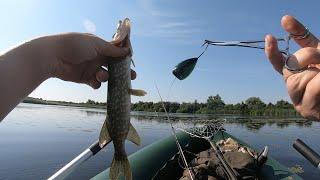 Рыбалка на спиннинг 03 07 2021 Щука на лягушку и хорватское яйцо