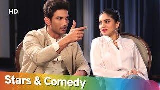 Stars & Comedy - Sushant - Bhumi Pednekar - Siddharth Kannan - Chat Show - #ShemarooComedy