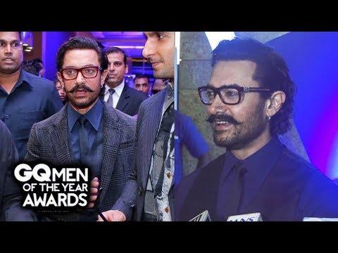 Aamir Khan पहुचें GQ Men Of The Year Awards 2017 पर | GQ Awards 2017 Red Carpet