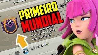 PRIMEIRO CLÃ NÍVEL 25 MUNDIAL NO CLASH OF CLANS